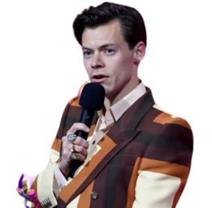 Harry Styles Crashed the Brit Awards Wearing…That?