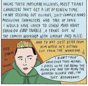 In Praise of Transmasculine Villains
