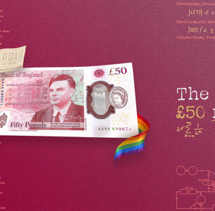 Gay, Groundbreaking Scientist Alan Turing is Honored on the New £50 Note