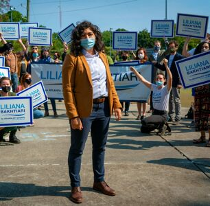 Inside Liliana Bakhtiari's Campaign to be Atlanta's First Gay, Nonbinary, Muslim Politician