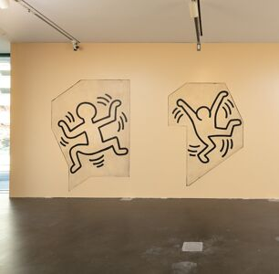 A Lost Keith Haring Mural Is on Display in Denver
