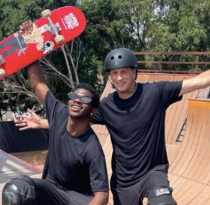 Lil Nas X and Tony Hawk's TikTok Collab Proves Blood Is Thicker Than Water