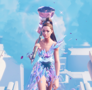 Ariana Grande's Fortnite Performance was Full of Fart Rainbows and Gayness