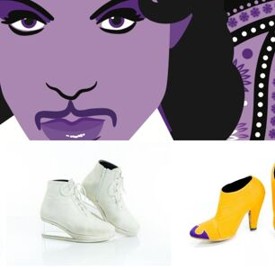 Prince's Iconic Shoe Collection is Now On Display