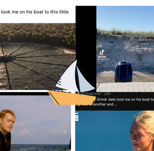 His Grindr Date Took Him to a Private Island. Memes Ensued.