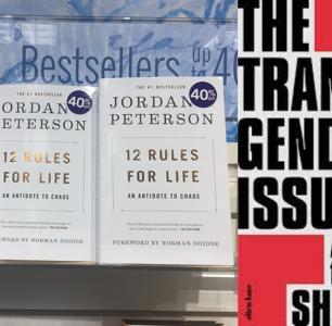 British Trans Author Shon Faye Dethrones Jordan Peterson From Top Bestseller Spot