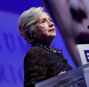 Hillary Clinton Calls Trump's Attacks on LGBTQ Rights 'Striking and Scary'