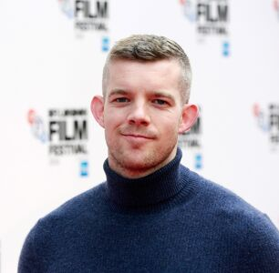 Russell Tovey Poses in Cape and Undies for HIV Charity Painting