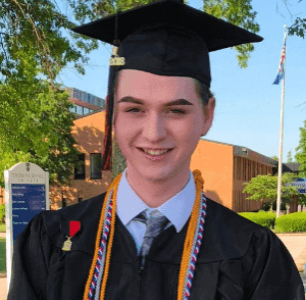Meet the Queer Student Who Gave a Speech Outside His Graduation After Being Banned From Speaking
