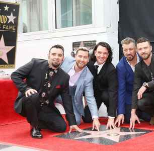 Lance Bass Thanks LGBTQ Fans As NSYNC Gets Star On The Hollywood Walk Of Fame