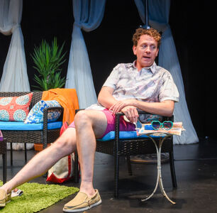 Drew Droege Returns for Final Week of 'Bright Colors and Bold Patterns'