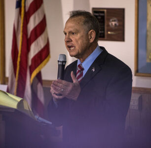 Roy Moore Says Lesbians, Gays and Socialists Are to Blame for Sexual Harassment Allegations