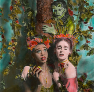 This Photoshoot Recasts Adam and Eve As Transgender