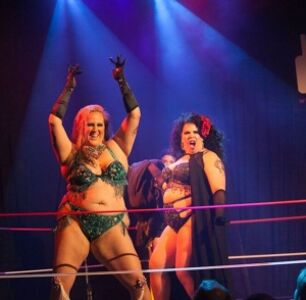 Bunny Buxom Has Found A Way To Combine Pro Wrestling And Burlesque