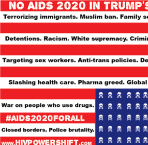 Citing Safety Concerns, AIDS Activists Call on AIDS2020 to Pull Out of San Francisco and Trump's America