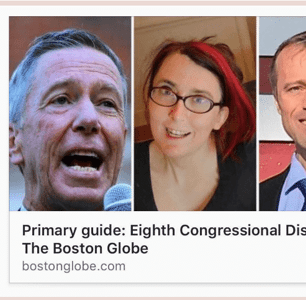 'Boston Globe' Under Fire For Running Old, Unprofessional Photo Of Queer Congressional Candidate