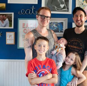 Trans Dad Trystan Reese Learns to Reclaim His Story