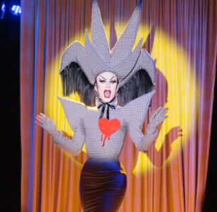 Front Row At Sasha Velour's NYFW Drag Show For Opening Ceremony