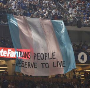 'Trans People Deserve To Live' Banner Displayed At Final World Series Game