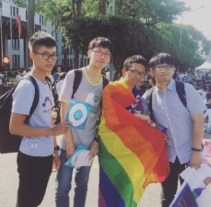 100,000 Rally in Support of Same-Sex Marriage in Taiwan's Largest City