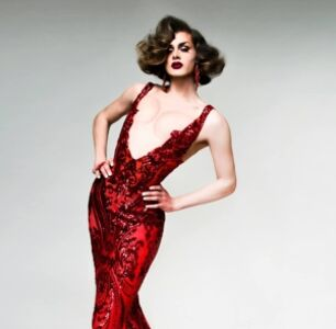 Scarlet Envy Combines High Glam With Dive Bar Drag