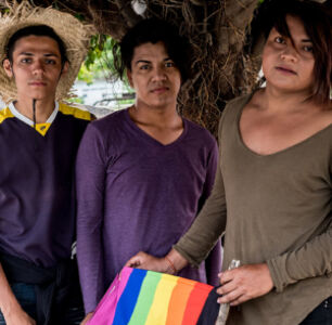 Three LGBTQ Salvadorans On Why They Joined A Migrant Caravan Heading to The U.S. Border